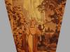 Nach einem Gemälde von Maxfield Parrish. Dispersion auf Nessel. Höhe 175 cm