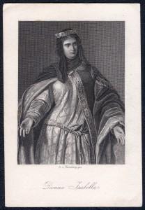 Donna Isabella Schiller-Galerie, Ad. Neuman nach Ramberg